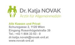Dr. med. univ. Katja Novak